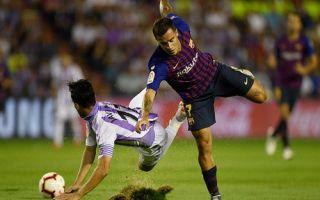 Прогноз на матч Барселона – Вальядолид