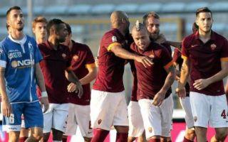 Прогноз на матч Рома – Эмполи