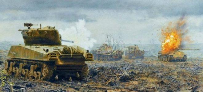 Стратегия на пробив линии: Метод танковой атаки